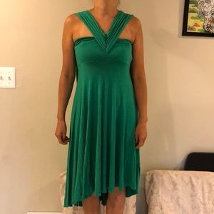Multiway swim cover up dress
